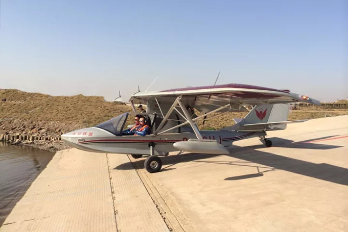 上海水陆两栖运动飞机
